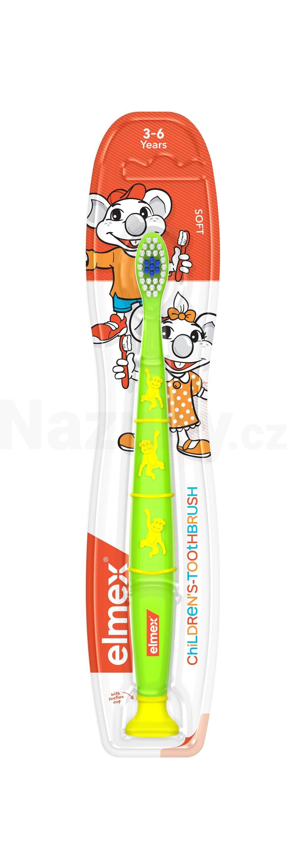 Elmex zubní kartáček dětský 3-6 let
