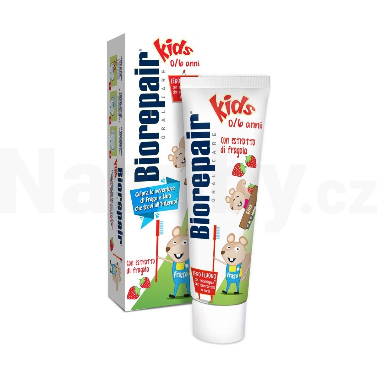BioRepair Kids dětská zubní pasta 50 ml