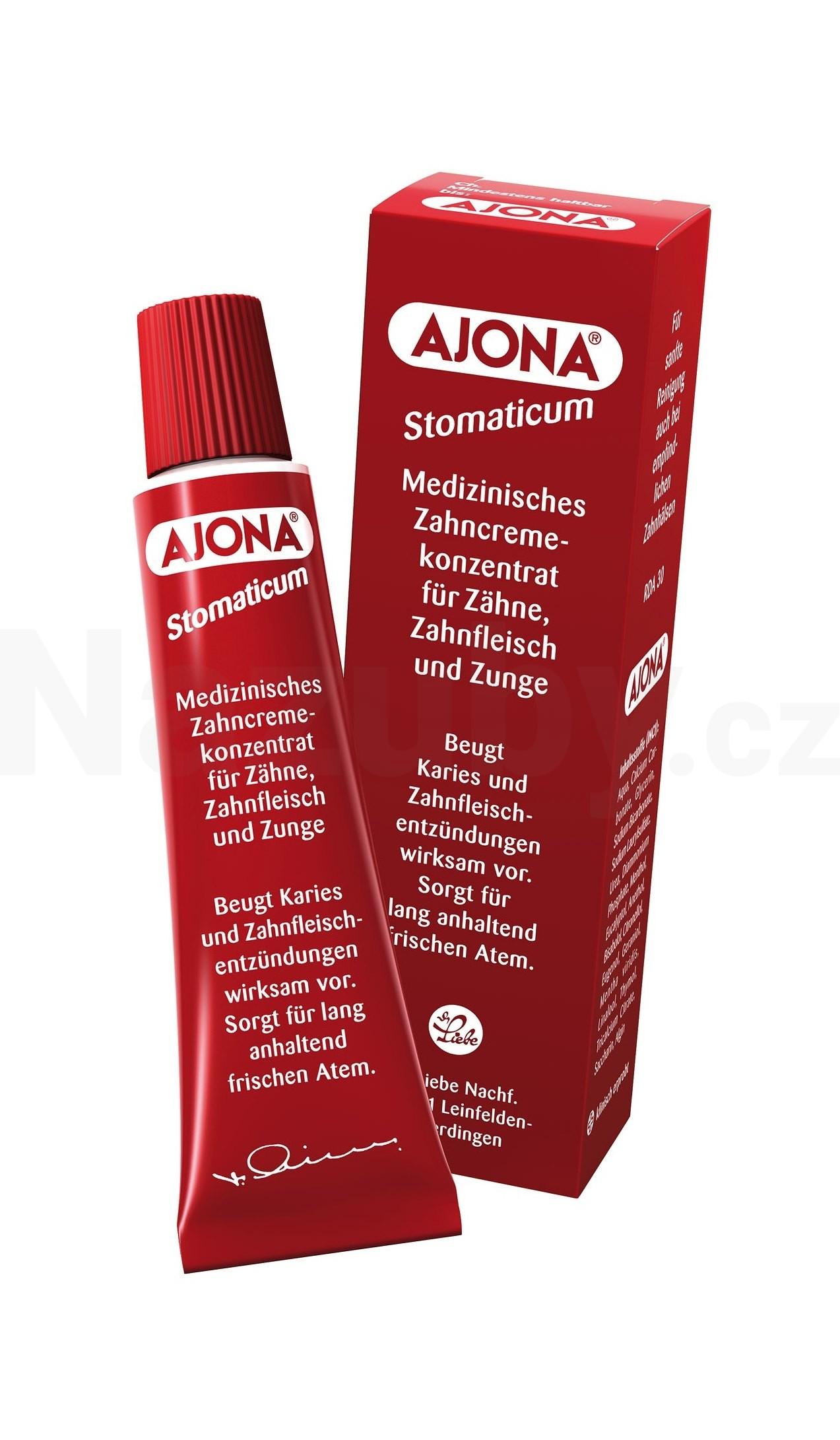 Ajona Stomaticum zubní pasta 25 ml