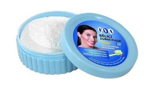 EVA Bělící zubní pudr Fluor 30 g