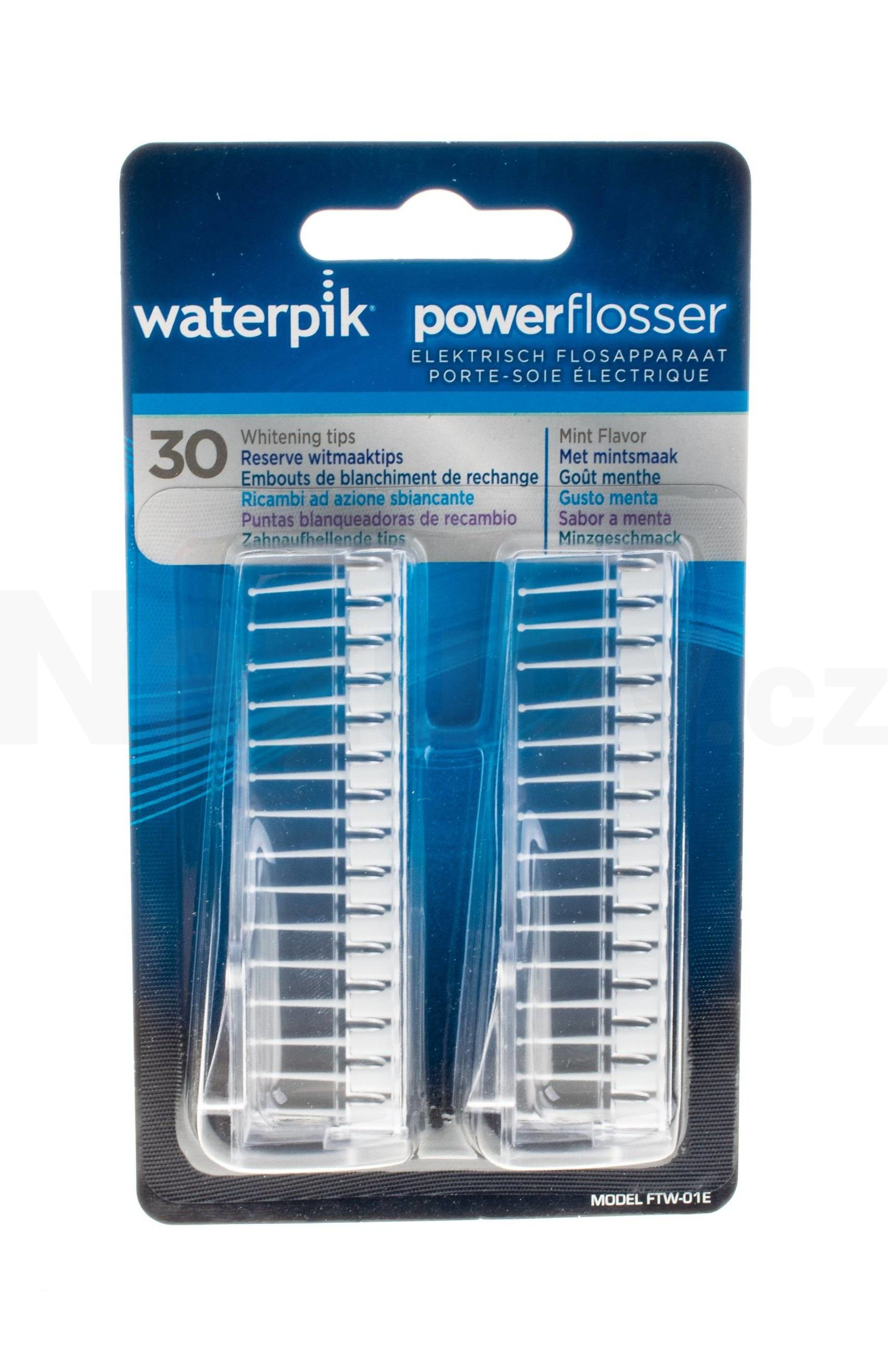 Waterpik Flosser Whitening nástavce 30 ks