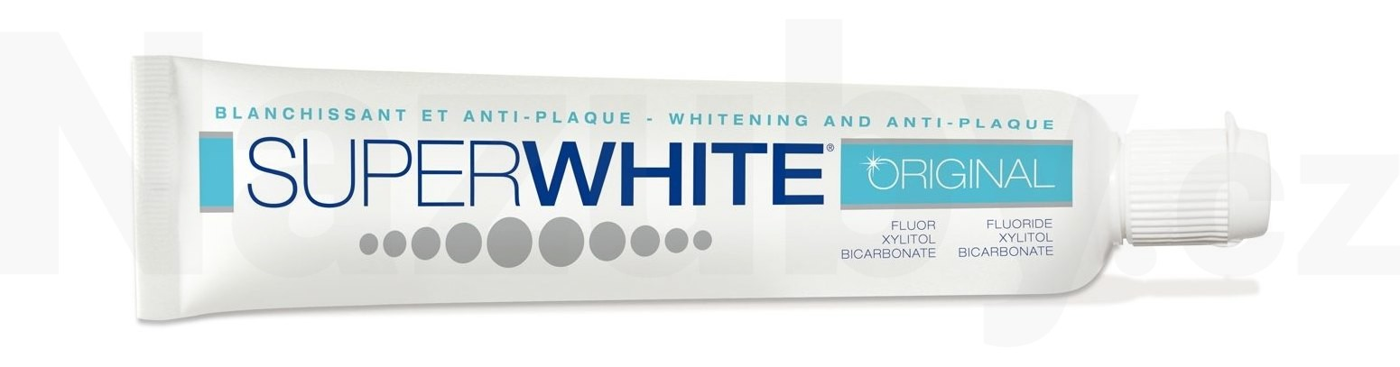 SUPERWHITE ORIGINAL bělící zubní pasta 75 ml