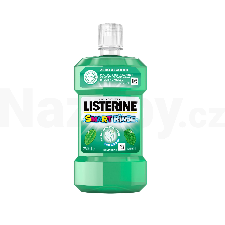 Listerine SmartRinse Mint ústní voda pro děti 250 ml